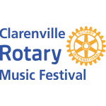 Rotary Club of Clarenville Clarenville Rotary Music Festival Logo