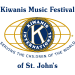 Kiwanis Club of St. John's and Kiwanis Club of Kelligrews Kiwanis Music Festival of St. John's Logo
